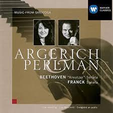 Ludwig van Beethoven, Cesar Franck, <b>Martha Argerich</b>, <b>Itzhak</b> ...