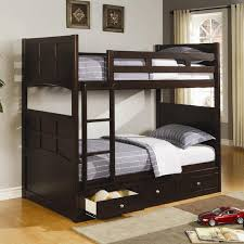 Twin Bunk Bed with Under Bed Storage