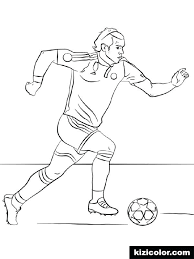 Soccer Player Coloring Pages Soccer Player Coloring Pages Soccer