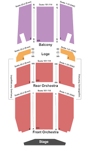 Artpark Mainstage Seating Chart University At Buffalo Center For The Arts Seating Chart