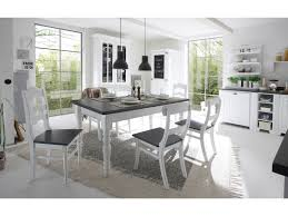 Landhausküche Odette weiß grau aus massivem Pinienholz