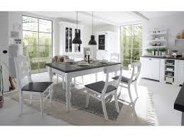 Esstisch Landhausstil Weiß Grau
