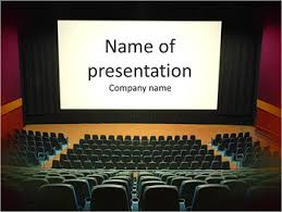 Movie Powerpoint Template Cinema Powerpoint Template Infographics Slides