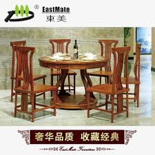 gany furniture hedgehog sandalwood chinese round dining tables
