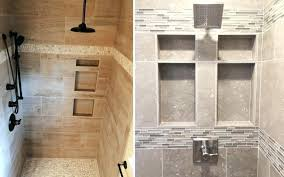 two examples of recessed built in shower shelves build bench wood pros cons 6 common storage