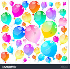 Colour Texture Design Colour Holiday Balloons Background Texture Design Stock