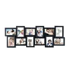 4x6 black frames opening plastic wall hanging collage picture photo frame bulk