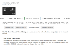 Ritz Carlton Rewards Chart Last Minute Round Of Applications And The Cards I Went With