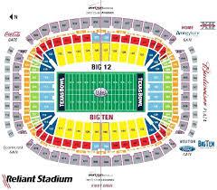 Hlsr Seating Darrell K Royal Stadium Seating Houston