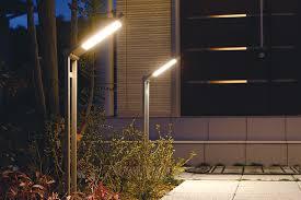 modern exterior led lighting designed in japan