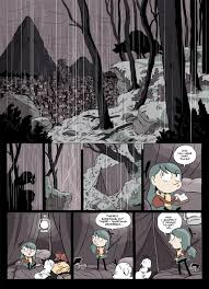 Hilda and The Black Hound - Luke Pearson - Illustration and Comics