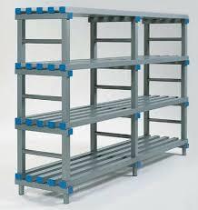 plastic storage shelving 5 shelf plastic ventilated storage shelving unit plastic shelf storage bins