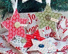 Tutorial: Folded Fabric Star Ornaments (Felicity Quilts ... & Tutorial: Folded Fabric Star Ornaments (Felicity Quilts) | Ornament, Star  and Tutorials Adamdwight.com