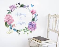 flower name wreath decal ii your decal shop nz designer wall art decals  on decal wall art nz with flower name wreath decal ii wall sticker wall art decal and wreaths