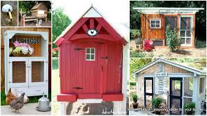 Stylish Chicken Coop Designs 57 Diy Chicken Coop Plans In Easy To Build Tutorials 100 Free