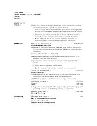 sample driver resume