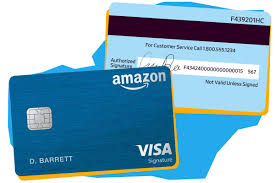 Amazon visa credit card offer. Why Are Credit Card Numbers On The Back Of The Card Now