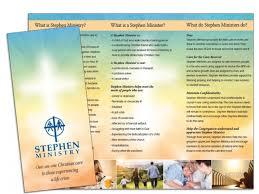 Brochure Samples Church Brochure Sample 3 Wilson Printing Usa Church Brochures
