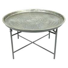 small round metal side table medium size of vintage black coffee with legs white