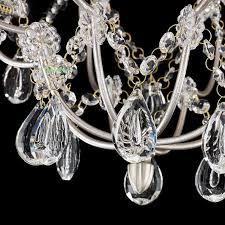 italy rusty coffee lights retro vintage royal style iron lampadari mini crystal chandelier lights for