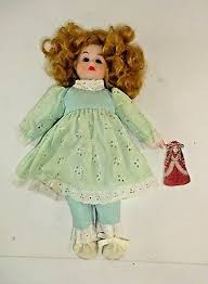 "VTG JC Penny Bradley's Collectables porcelain doll w/ Original Tag - 12""  Tall 