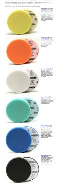 Foam Buffing Pad Color Chart Best Picture Of Chart