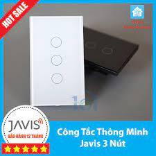 Công tắc cảm ứng Javis 3 nút