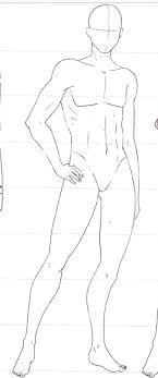 Blank Fashion Design Templates Enchanting Male Body Template Diy Art Pinterest Body Template Male Body