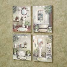 vintage bath framed art prints set of 3 with regard to 2018 wall decor vintage on bathroom wall art set of 3 with view gallery of vintage bath framed art prints set of 3 showing 5