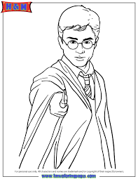 Small Picture Harry Potter Coloring Pages Printable Coloring Home