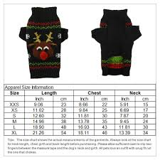 Us 5 3 10 Off Xmas Reindeer Design Pet Dog Sweater For Autumn Winter Wholesale Warm Knitting Crochet Christmas Dog Clothes Chihuahua Teddy In Dog