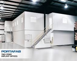 Warehouse office space Cool Twostory Inplant Offices Portafab Modular Buildings Ian Fletcher Maxwell Polaris Portafab Modular Warehouse Offices