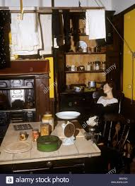 Edwardian Kitchen Uk England Staffordshire Stoke On Trent Museum Community