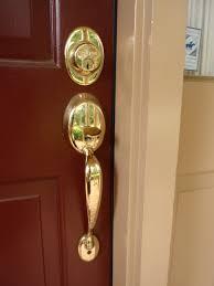 Backyards : How Replace Exterior Door Knob Lock Installation ...