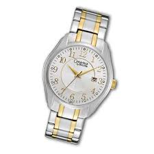 men s bulova chronograph stainless steel bracelet watch men s caravelle by bulova® two tone stainless steel watch round white dial model 45b114