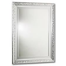 mirror 20 x 36. razzle dazzle mirror, double frame, lacquered silver 24 inch x 36 mirror 20