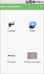 Apwa Uniform Color Code Chart Cable Color Coder