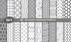 Illustrator Pattern Swatches Unique Geometric Seamless Patterns Pattern Swatches Included For