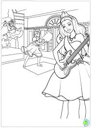Small Picture Barbie Coloring Pages Popstar Coloring Pages