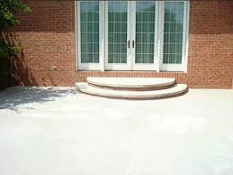 plain concrete patio. Plain Concrete Patio T