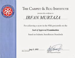 Carpet Rug Institute Instarugs