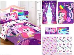 my little pony bedding kids girls my little pony bedding bed in a bag comforter set