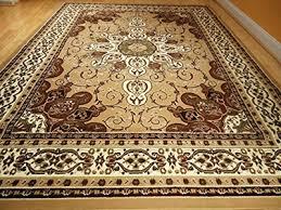 new persian style rug 5 x8 beige brown rug 5x7 area rug living room carpet floor