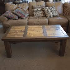 Colorado Rustic Walnut U0026 Barnwood Coffee Table