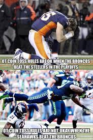 "NFL Memes on Twitter: ""Broncos Fans' Logic.. http://t.co/JnQhoGMza2"" via Relatably.com"