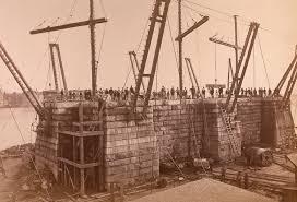 Who Designed The Brooklyn Bridge Vintage Images Of Brooklyn Bridge Construction