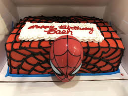 Look At This Amazing Spider Man Ice Cream Cake Done By Your
