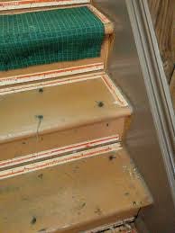 Removing Stair Carpet Hallway Stairs Before After The Carpet Removal Elm Century