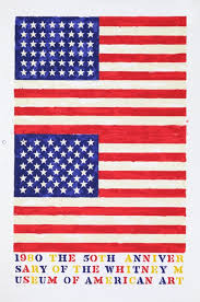 jasper johns the 50th anniversary of the whitney museum of american art 1980