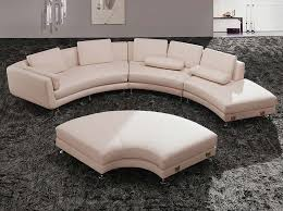 Interesting Round Sectional Sofa with Modern Round Leather Sectional Sofa  A94 Leather Sectionals